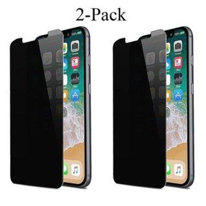 2 Pack Privacy Screen Protector for iPhone XS Max